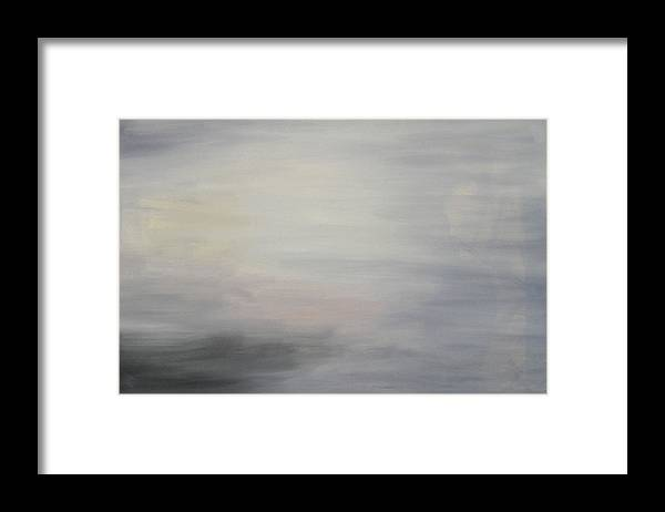 Clouds Sky Framed Print featuring the painting Special Clouds by Harris Gulko