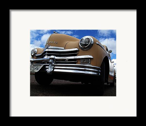 1949 Framed Print featuring the photograph Special Deluxe by The Stone Age