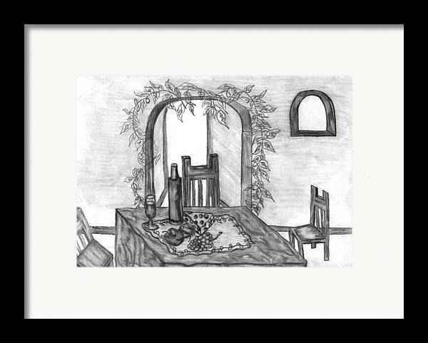Still Framed Print featuring the drawing Special Occasions by Katina Cote
