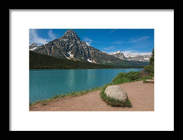 Rocky Mountain Framed Print featuring the photograph Spectator by Csaba Diglics