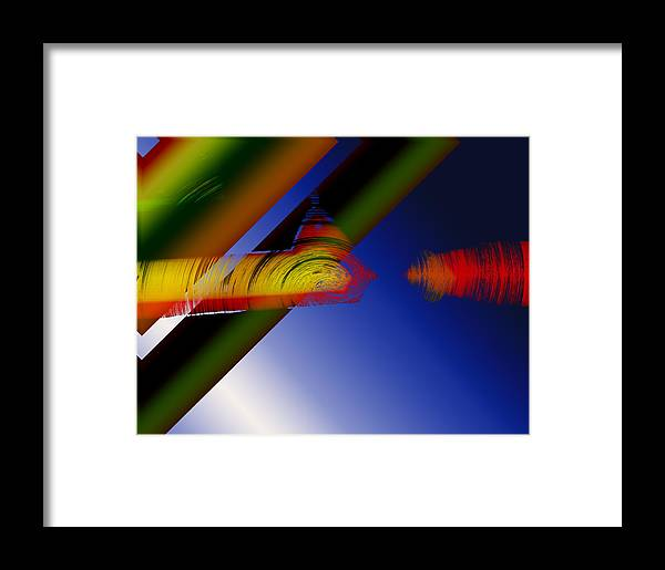 Photograph Framed Print featuring the photograph Spectrum Of Roses by Mindy Newman