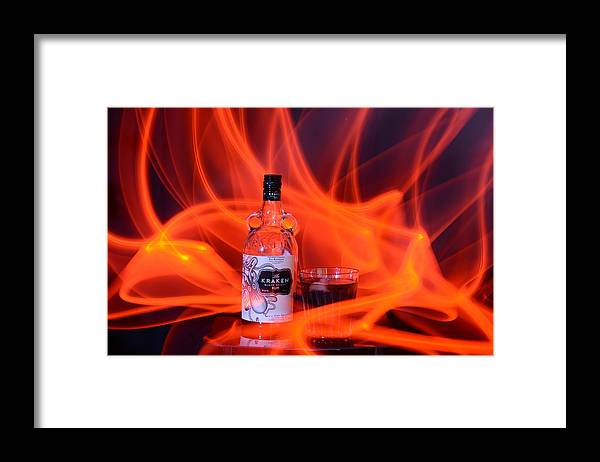 Rum Framed Print featuring the photograph Spiced Rum by Paulina Roybal