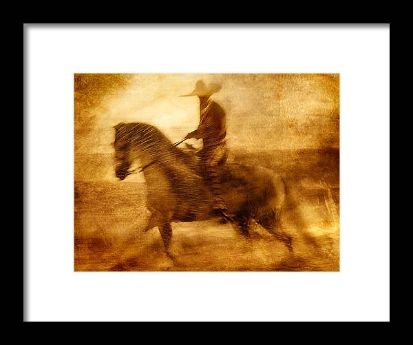 Beach Framed Print featuring the photograph Spirit Of The Charro by Nick Sokoloff
