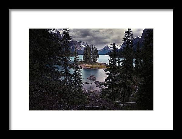 Water Framed Print featuring the photograph Spirit Within by Csaba Diglics