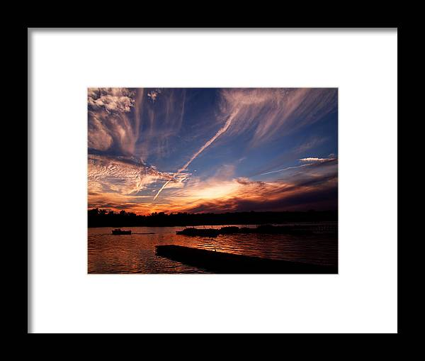 Sky Framed Print featuring the photograph Spirits In The Sky by Gaby Swanson