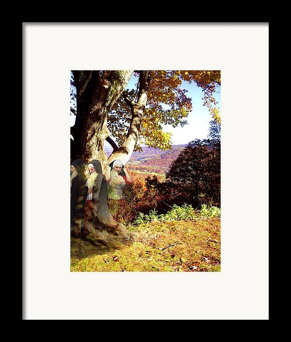 Fall Framed Print featuring the photograph Spirits In View by Scarlett Royal