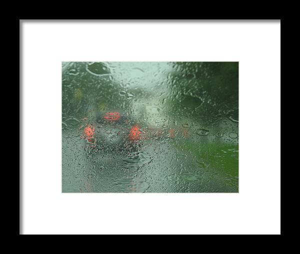 Rain Framed Print featuring the photograph Splash by Betty-Anne McDonald