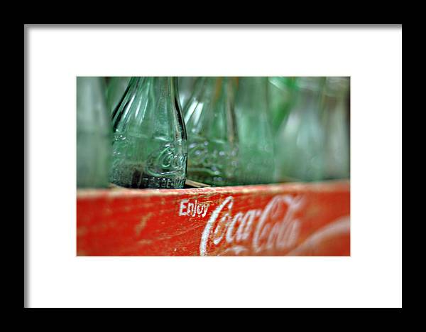 Red Framed Print featuring the photograph Splash Of Clarity by Mark Weaver