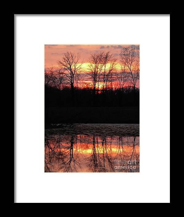 Fog Framed Print featuring the photograph Spo257b by Scott B Bennett