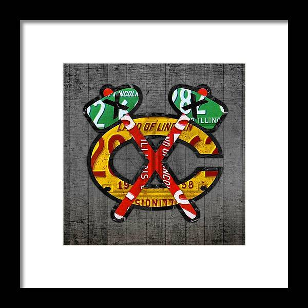 Blackhawks Framed Print featuring the photograph Sports Team Collection Has Grown To by Design Turnpike