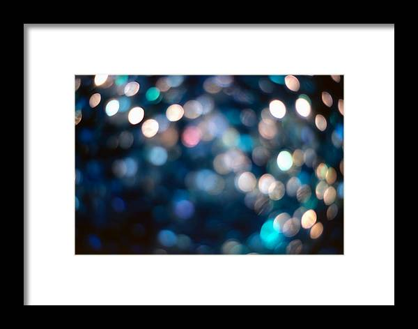 Abstract Framed Print featuring the photograph Spotlighted Marble Abstract 1 by Steve Ohlsen