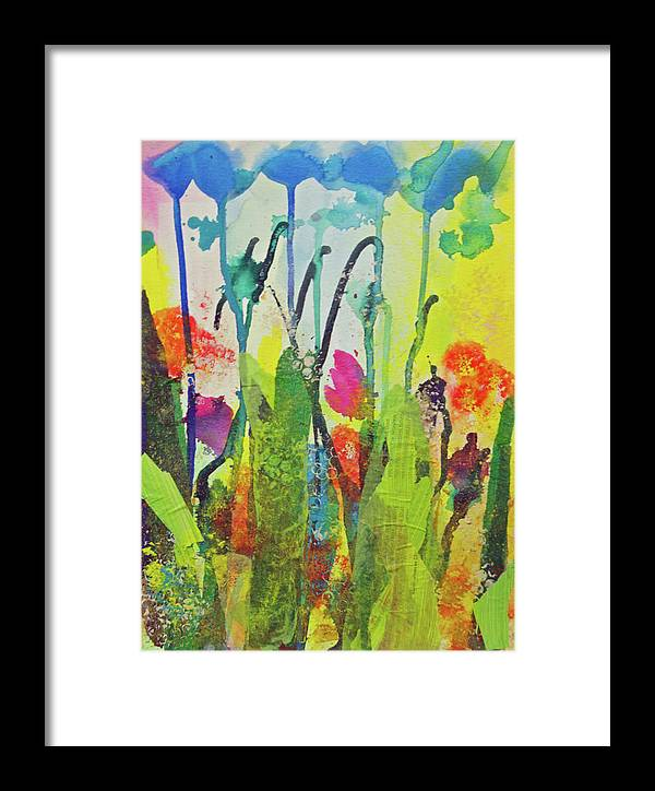 Flowers Framed Print featuring the photograph Spring Flowers by Paper Jewels By Julia Malakoff