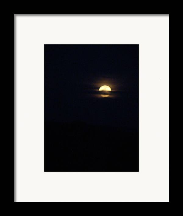 Full Moon Framed Print featuring the photograph Spring Moon One by Ana Villaronga