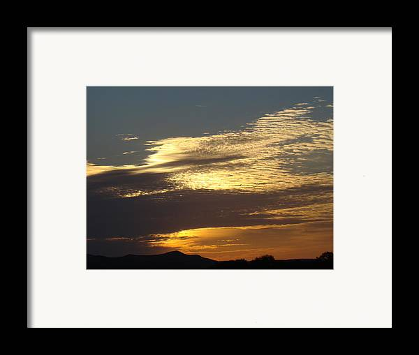 Landscape Framed Print featuring the photograph Spring Sunrise One by Ana Villaronga
