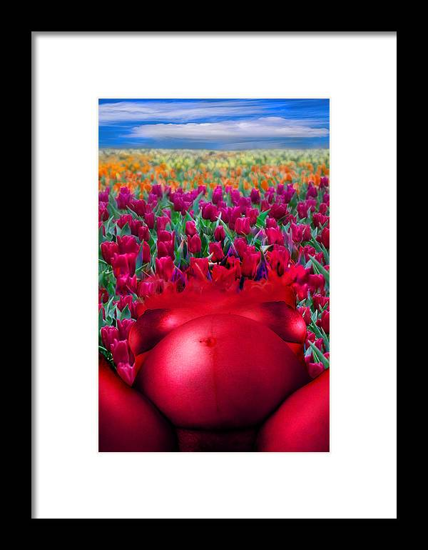 Framed Print featuring the photograph Spring by Zygmunt Kozimor