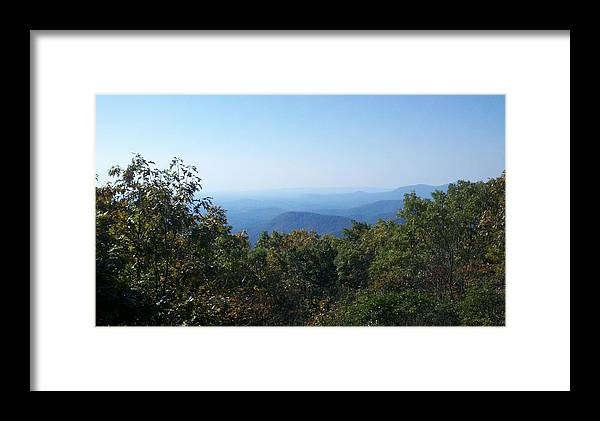Appalachian Trail Terminus Framed Print featuring the photograph Springer Mountain Georgia by Donny Stansel