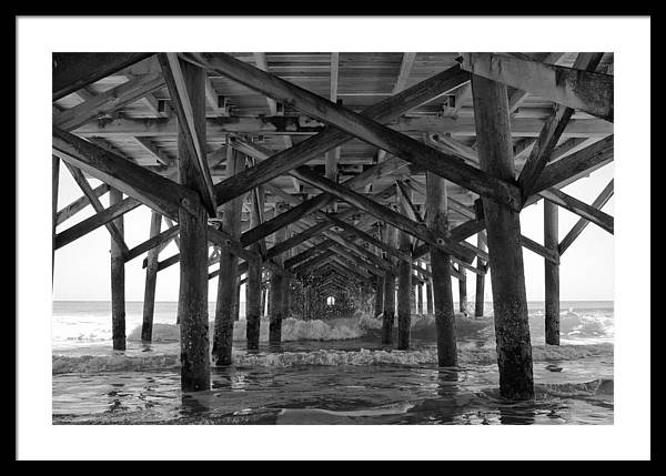 Springmaid Pier in Myrtle Beach South Carolina by Stephanie McDowell