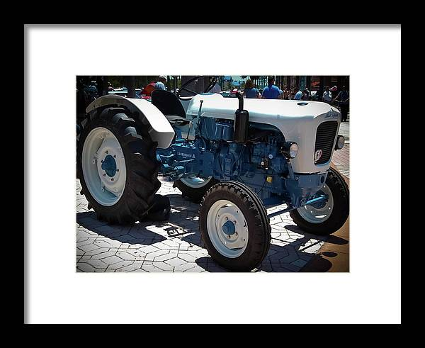 Lamborghini Framed Print featuring the photograph Spyder Bisnonno by DigiArt Diaries by Vicky B Fuller