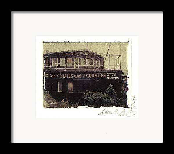 Pittsburgh Framed Print featuring the photograph S.s. Grand View Hotel...ship Of The Alleghenies Prow by Steven Godfrey