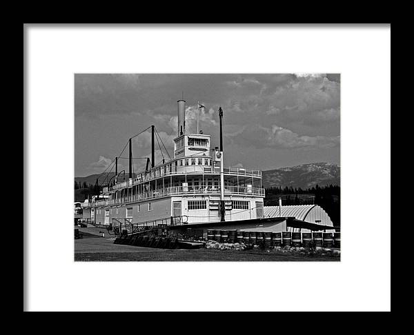North America Framed Print featuring the photograph S.s. Klondike by Juergen Weiss
