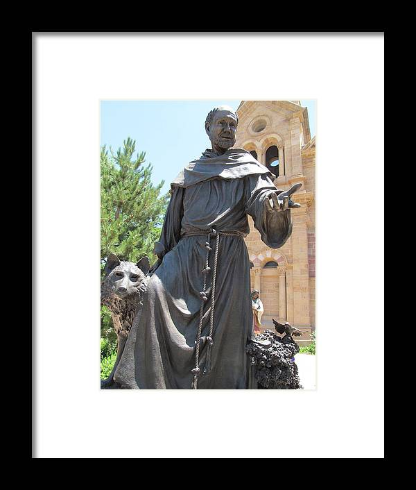 St. Francis Framed Print featuring the photograph St. Francis Of Assissi by Brandy Stark