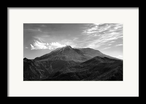 Landscape Framed Print featuring the photograph St. Helens by Ty Nichols