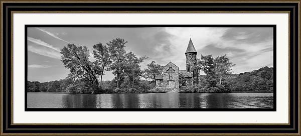 St. Hubert's Chapel Lake View by Thomas Langton
