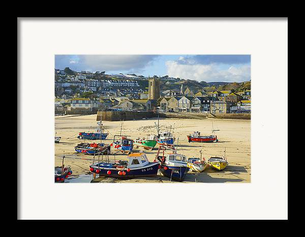 St Ives Framed Print featuring the photograph St Ives by Elisa Locci