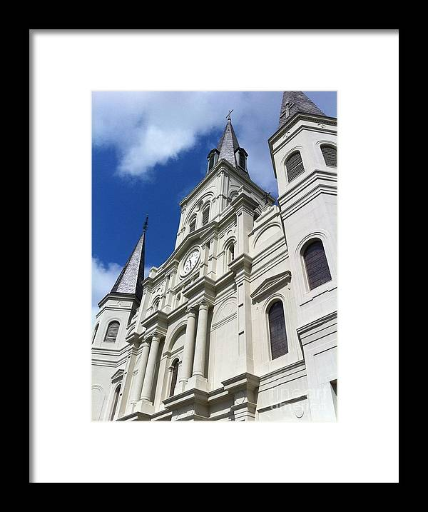 Nola Framed Print featuring the photograph St. Louis Cathedral In The Afternoon by John Giardina