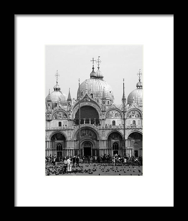 St. Marks Framed Print featuring the photograph St. Marks by Donna Corless