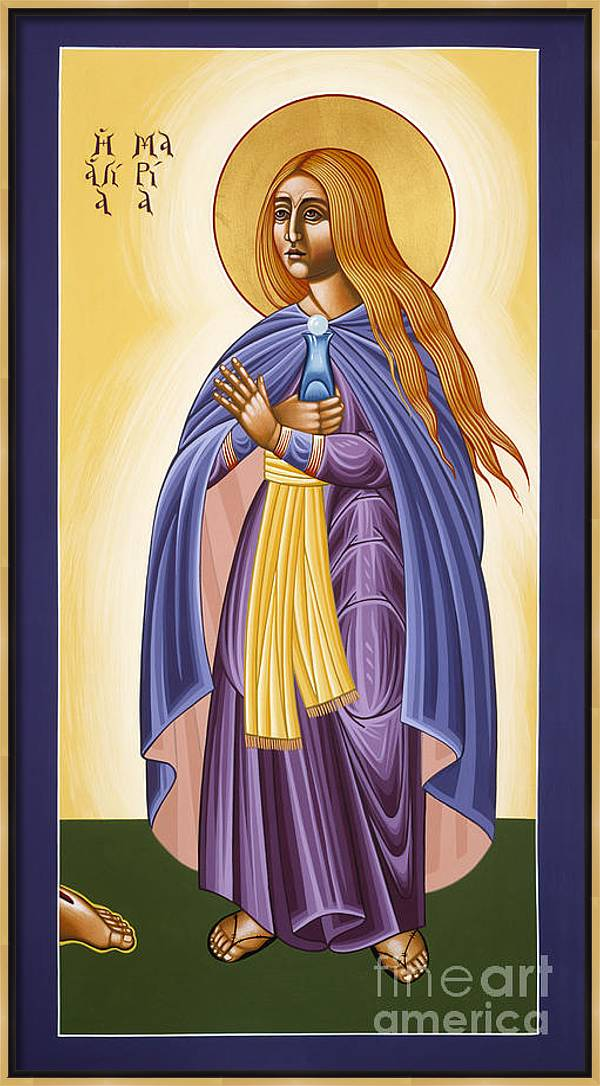 St Mary Magdalen Equal to the Apostles 116 by William Hart McNichols