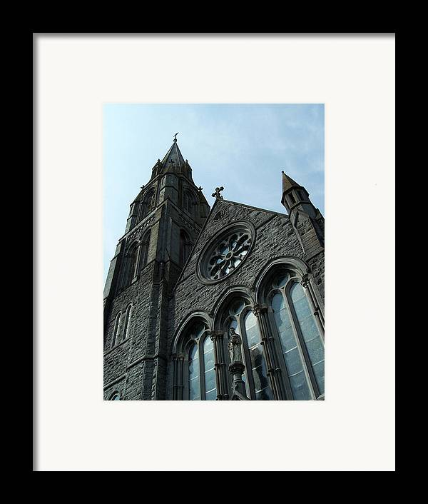 Ireland Framed Print featuring the photograph St. Mary's Of The Rosary Catholic Church by Teresa Mucha
