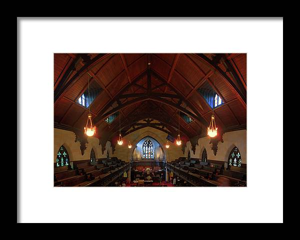 St Pauls Framed Print featuring the photograph St Pauls Church by Larry Simanzik