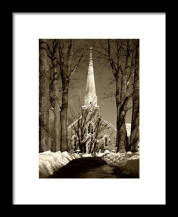 Apostle Framed Print featuring the photograph St. Thomas The Apostle Church by Gordon Beck
