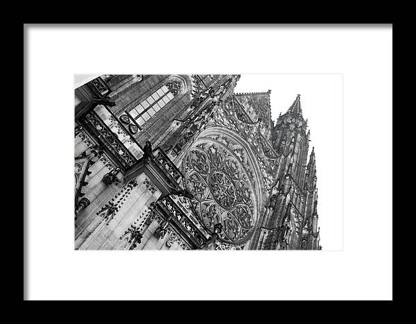 Europe Framed Print featuring the photograph St. Vitus Cathedral 1 by Matthew Wolf