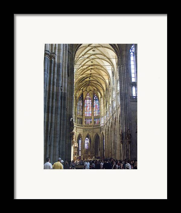 St. Vitus Framed Print featuring the photograph St Vitus Cathedral by Charles Ridgway