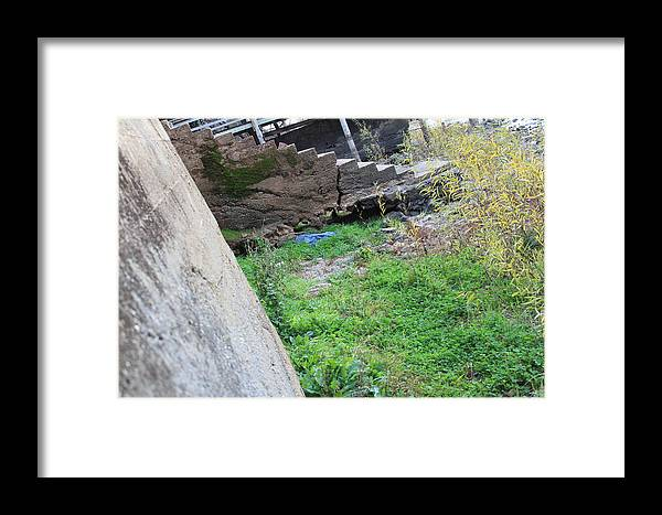 Lake Framed Print featuring the photograph Stairs by Cheyenne Cacy