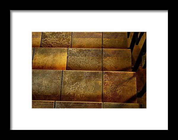 Stairs Framed Print featuring the photograph Stairs by Marilynne Bull