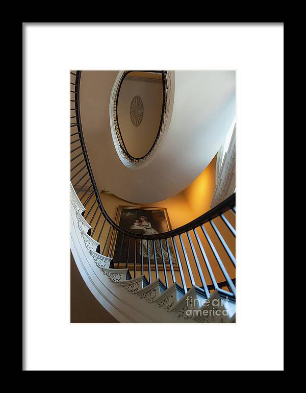 Free Floating Staircase Framed Print featuring the photograph Stairs To The Top by Dale Powell