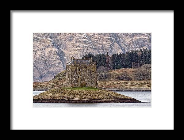 Stalker Castle Framed Print featuring the photograph Stalker Castle by Sam Smith