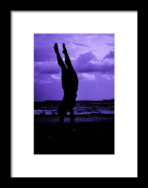 Sea Framed Print featuring the photograph Stand By Sea II by Trudi Southerland