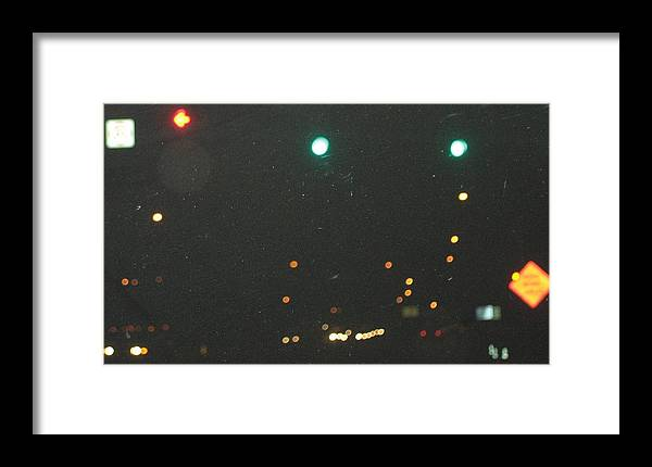 Lights Framed Print featuring the photograph Standard Disolution by Stephen Hawks
