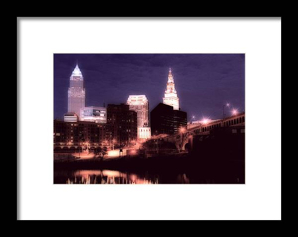 Cleveland Framed Print featuring the photograph Standing Tall by Kenneth Krolikowski