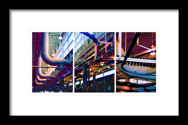 Abstract Framed Print featuring the photograph Star Factory by Steve Karol