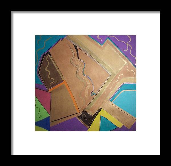 Tart Framed Print featuring the painting Star Fire by HollyWood Creation By linda zanini