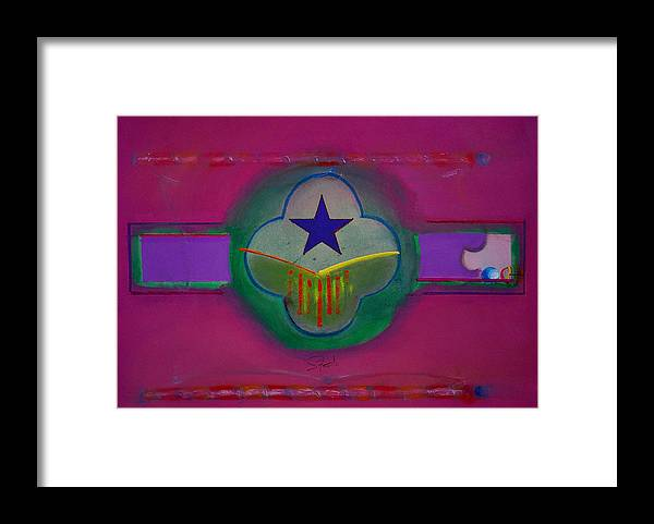 Star Framed Print featuring the painting Star Of Venice by Charles Stuart