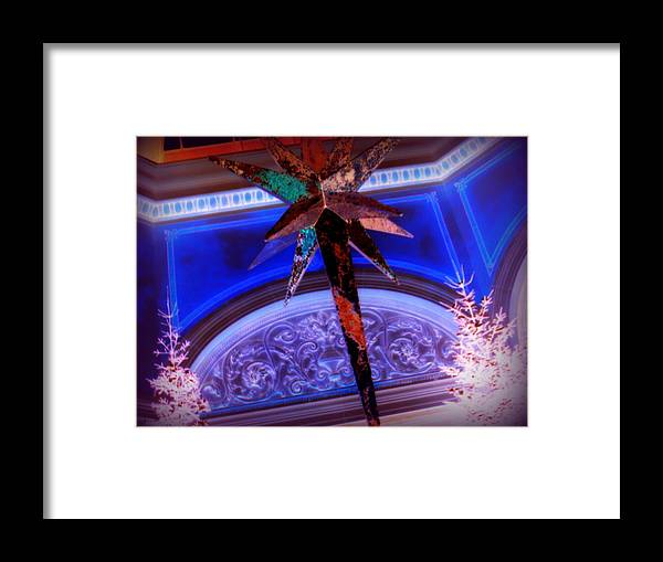 Framed Print featuring the photograph Star Of Wonder by Jacqueline Manos