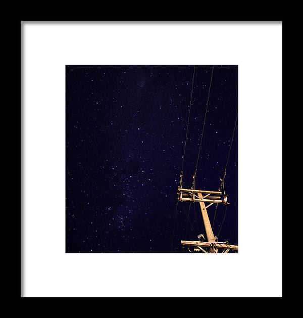 Star Framed Print featuring the photograph Star Power by Tim Maynard