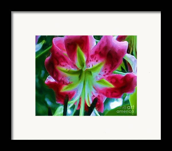 Fine Art Photography Framed Print featuring the photograph Stargazer by Patricia Griffin Brett