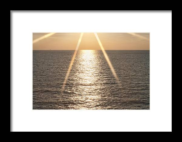 Star Framed Print featuring the photograph Starred Sunrise by Bill Perry